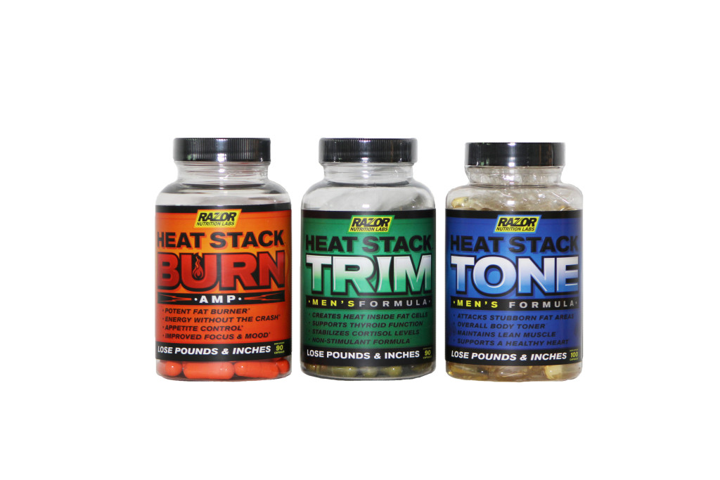 Heat Stack 3 Pack Men's (Burn regular)