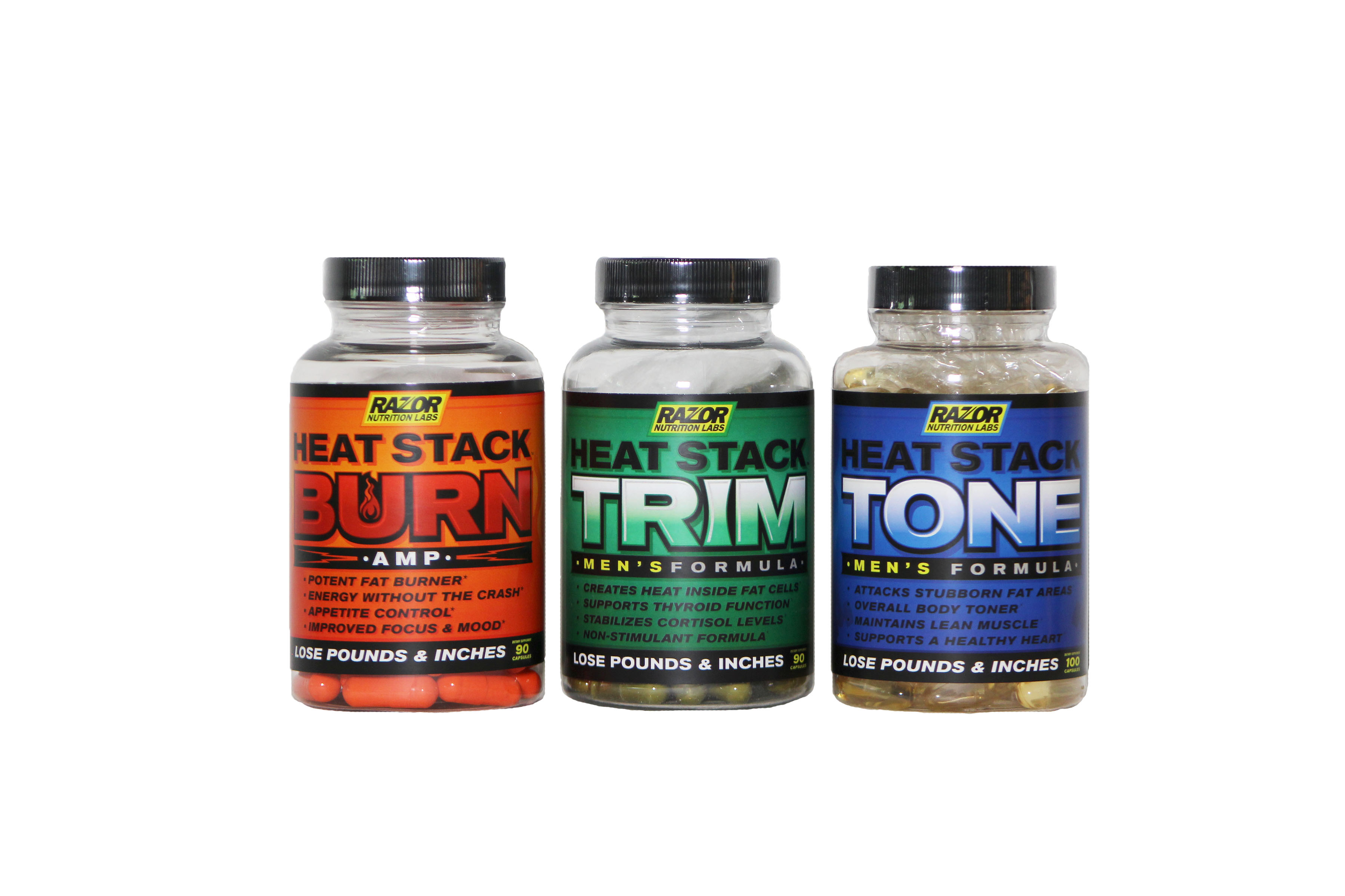 Heat Stack 3 Pack Extreme Men's